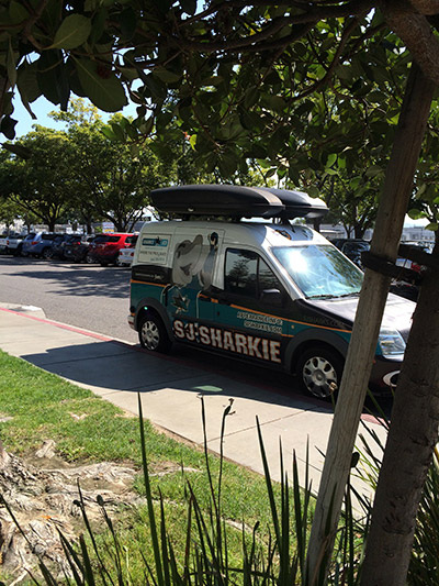 When the Sharkie Mobile is on the scene, good things are happening.
